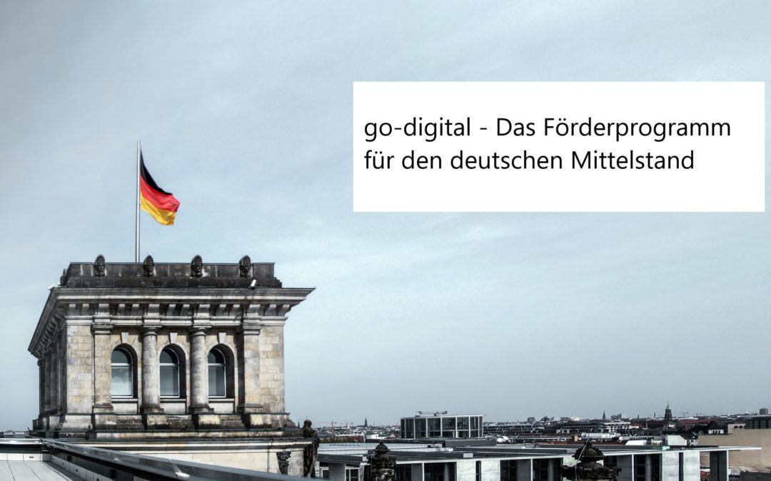 go-digital – bis zu 16.500€ Förderung für Innovation, Beratung und Digitalisierung